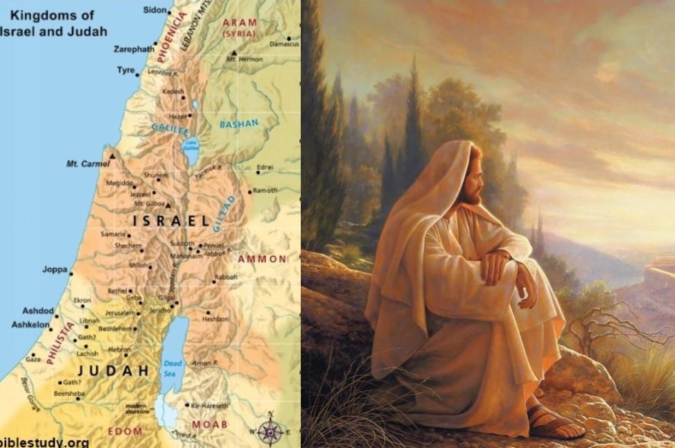 Jesus, Palestine, West Bank -Stop rewritingHistory!